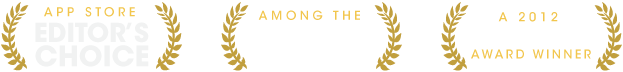 App Store Editor's Choice - Among the App Store's Best of 2012